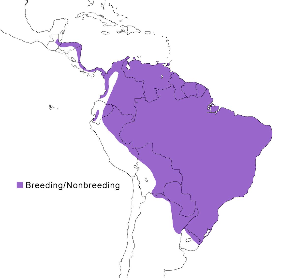 distribution map